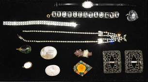 Victorian and Vintage Jewelry Grouping