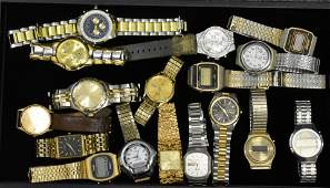 Grouping of Mens Wristwatches