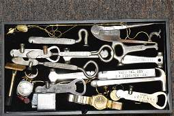 Cigar Tool and Bottle Opener Collection
