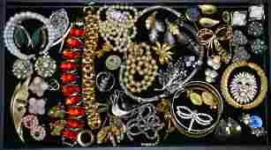 Mixed Vintage Costume Jewelry