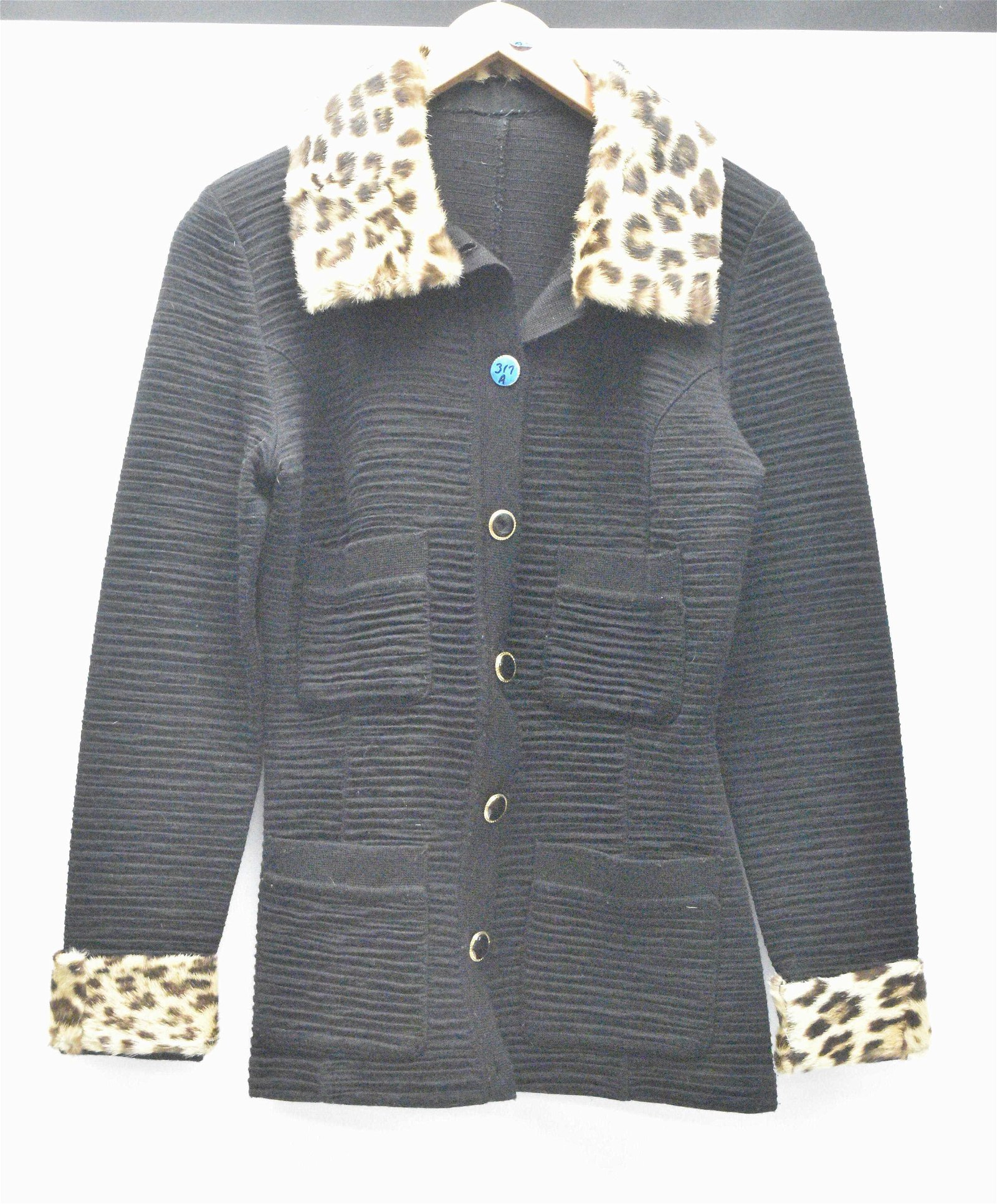 1940's Jacket with a Fur Collar