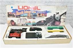 Lionel Rock Island Line Train Set in Box