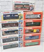Lionel O Gauge Train Cars in Box