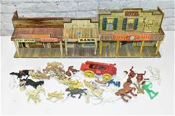 Roy Rodgers Mineral City Play Set