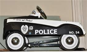 Metro Police #54 Pedal Car