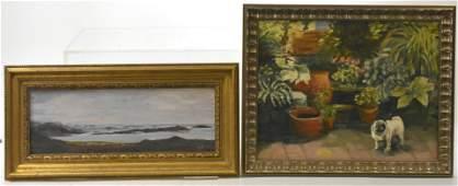 Two Paintings  Oil on Artist Board