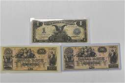 Three Large American Notes