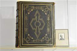 Leather Bound Bible - 1838