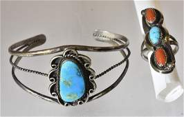 Vintage Native American Silver Jewelry