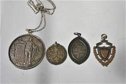 Vintage Sterling Medal Collection