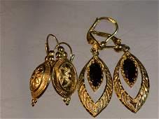 14k and 18k Gold Earrings