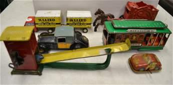 Vintage Tin Litho Toys