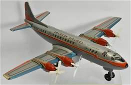 American Airlines Prop Plane by T.N Japan