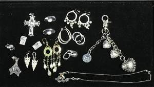 Sterling and Other Costume Jewelry
