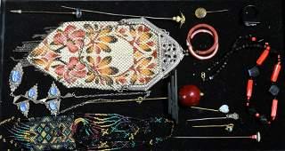 Vintage Bakelite and Mesh Purses