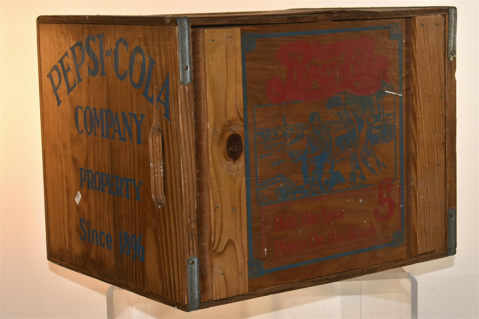 Collectible Pepsi Cola Crate