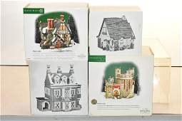 Collection of Department 56 Houses