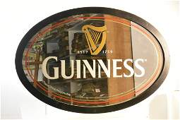 Guinness and Other Beer Advertising Mirror Signs