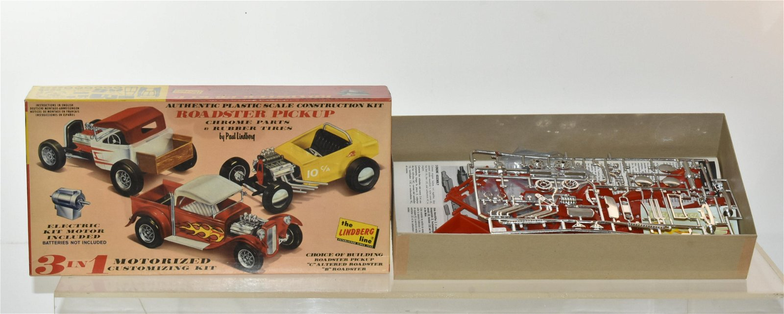 Roadster Electric Motor Model Kit