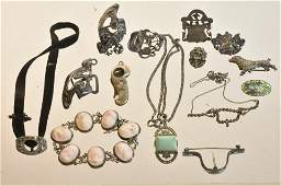 Victorian Sterling and Other Jewelry