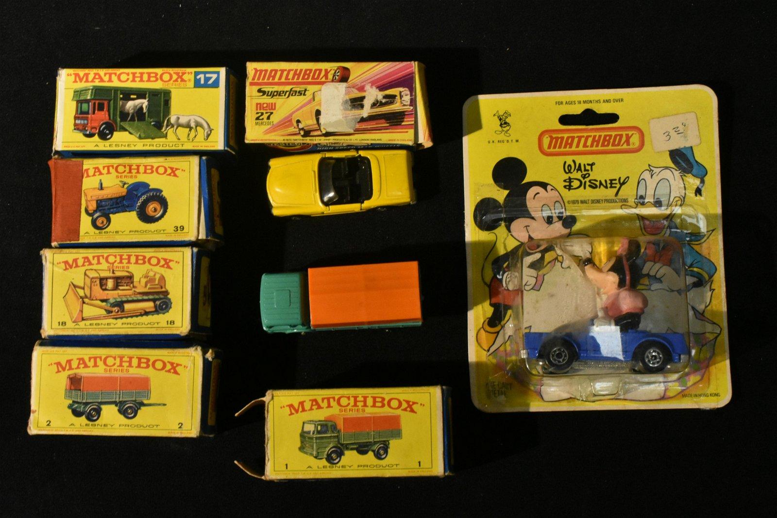 Lesney Matchbox Cars in Box
