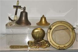 Nautical Grouping  Brass Bells More