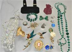 Signed and Other Costume Jewelry