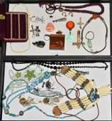 2 Trays of Costume Jewelry