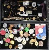 Elks Lodge Items and Tokens