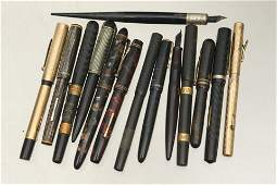 Vintage Fountain Pens and Pencils