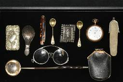 US Standard Pocket Watch and Personal Items