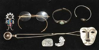 Native Sterling and Other Jewelry