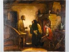 Oil on Canvas by Neubauer Witchs Kitchen