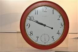Contemporary Ethan Allen School Clock