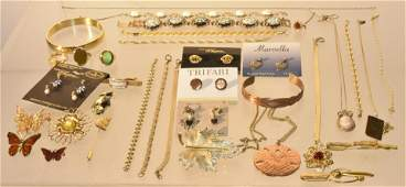 (2) Trays of Costume Jewelry