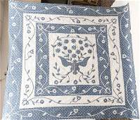 Hand Stitched Applique Quilt with Eagle and Flower