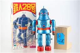 Tetsujin Osaka Tin Litho Robot