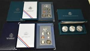 3 US Mint Commemorative Coin Sets