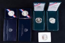 5 Assorted US Mint Commemorative Coins