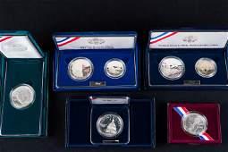 5 US Mint Commemorative Coins