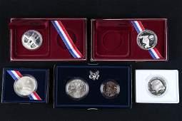 5 US Commemorative Coins
