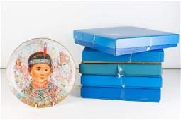Edna Hibel Collector Plates