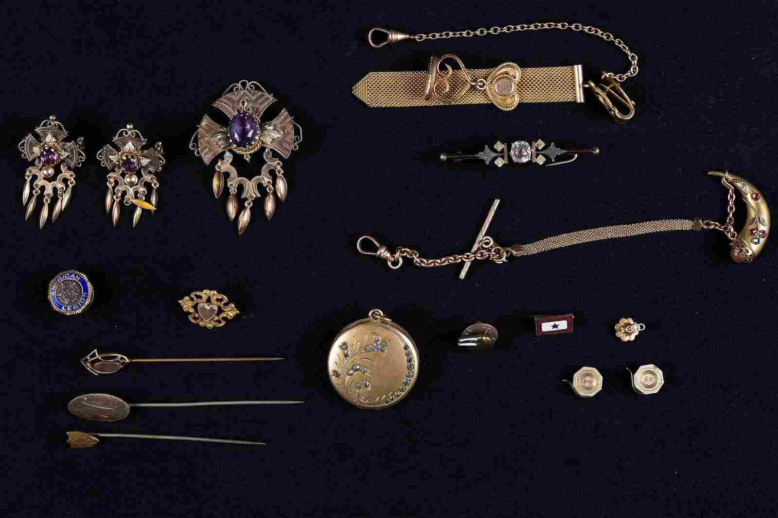 Victorian and Other Gold Filled Jewelry