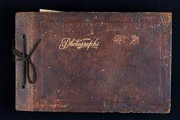 Early 20th C Glossy Photo Album