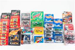 Hot Wheels and Matchbox Grouping