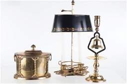 Decorative Brass Grouping