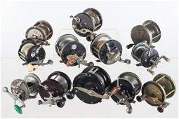 Collection of Deep Water Fishing Reels