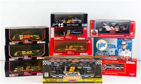 1/24 Scale Nascar Vehicles
