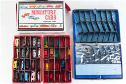 Hot Wheels, Matchbox, and Carrying Cases
