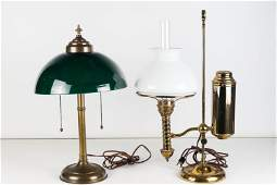 Vintage Student and Table Lamp